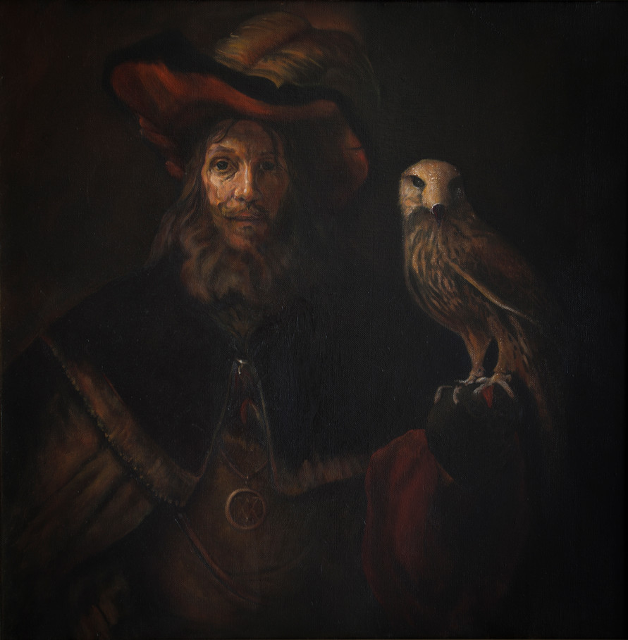 """""""Man with a falcon"""""""
