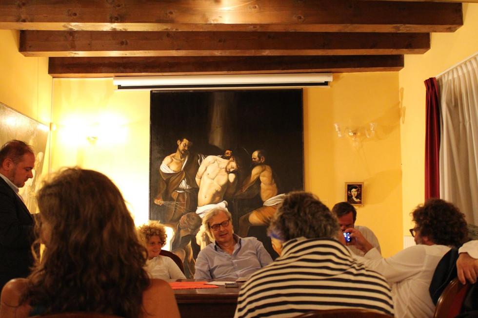 Modo Antiquo - Vittorio Sgarbi visita la nuova esposizione della collezione Zuigan Tizzano