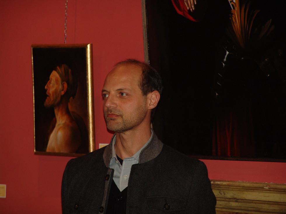 Massimo Tizzano, kitsch painter.