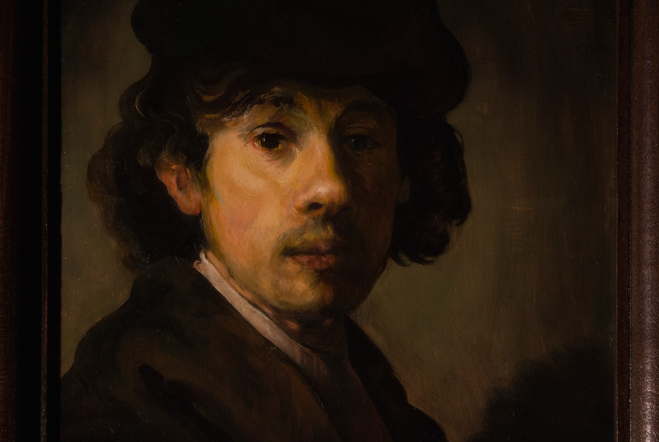 """Rembrandt as a young man"""