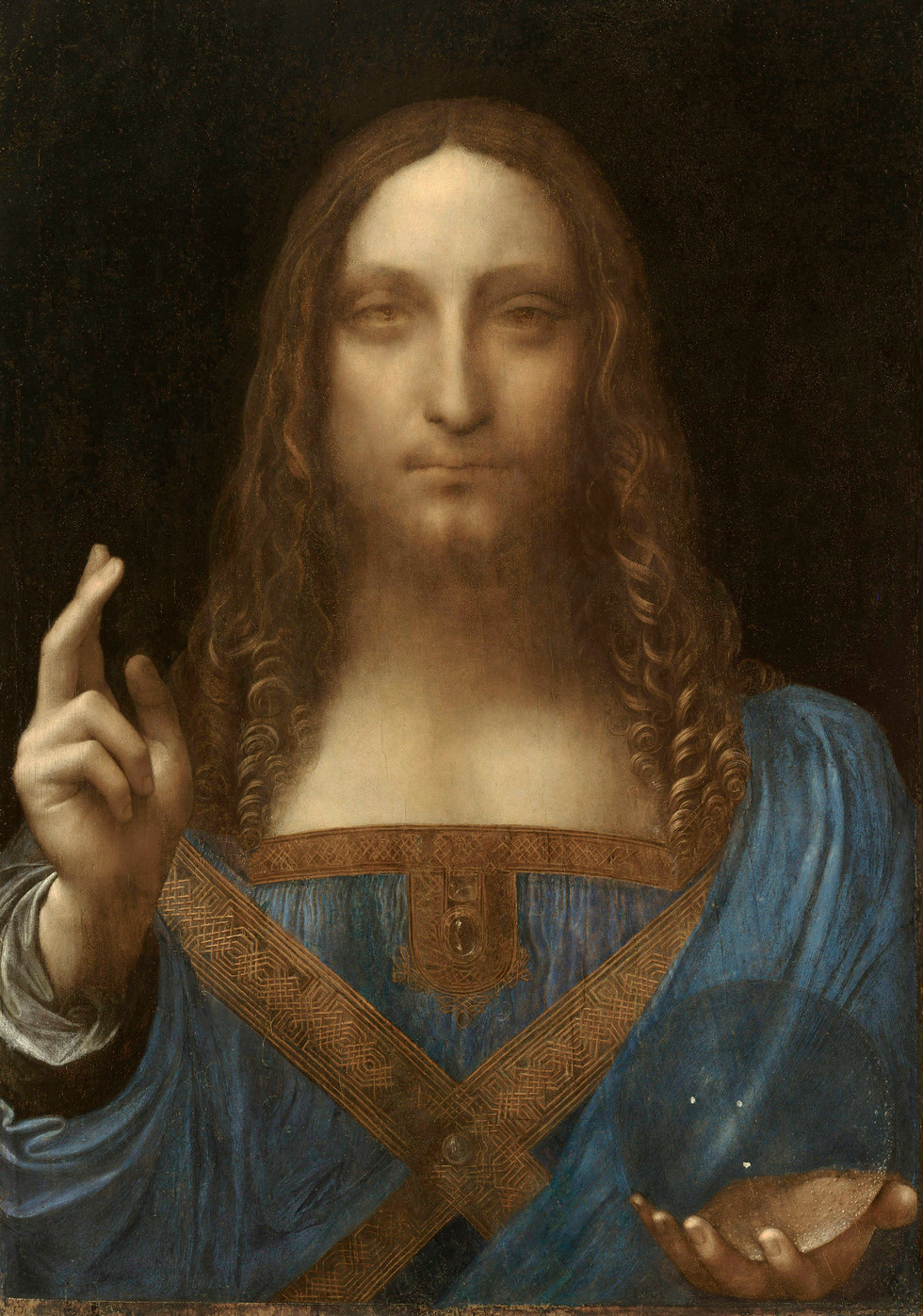 "Short critical note on the ""Salvator Mundi"" by Leonardo da Vinci"