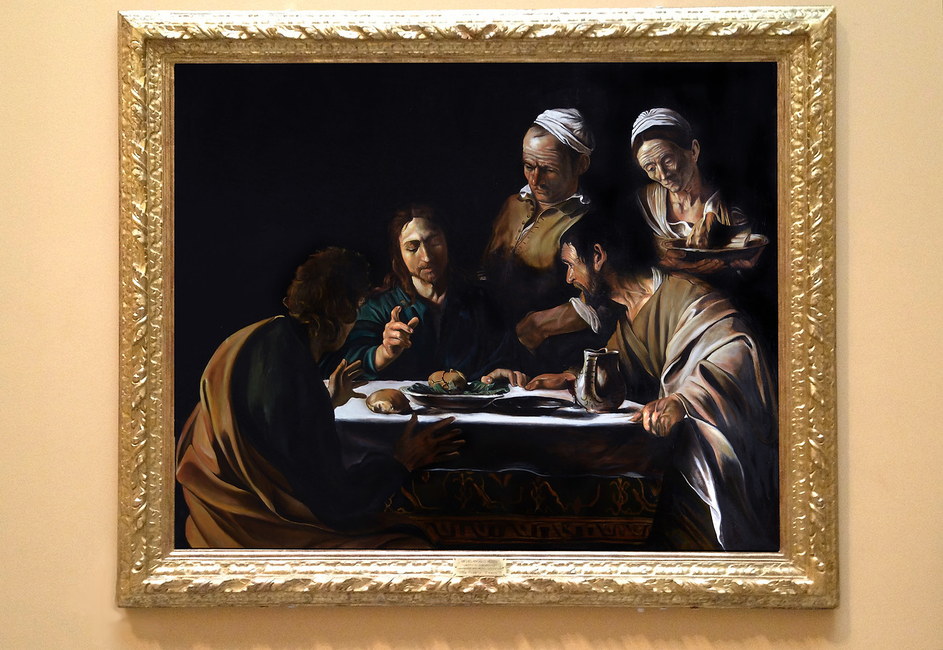 """Supper in Emmaus"""