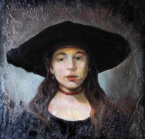 """""""Ritratto di giovinetta alla maniera di Rembrandt"""""""