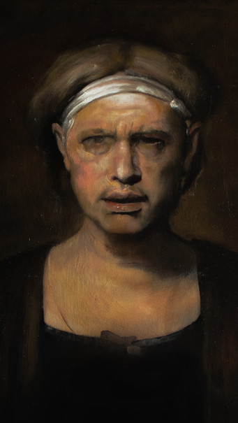 """Portrait of Odd Nerdrum"""