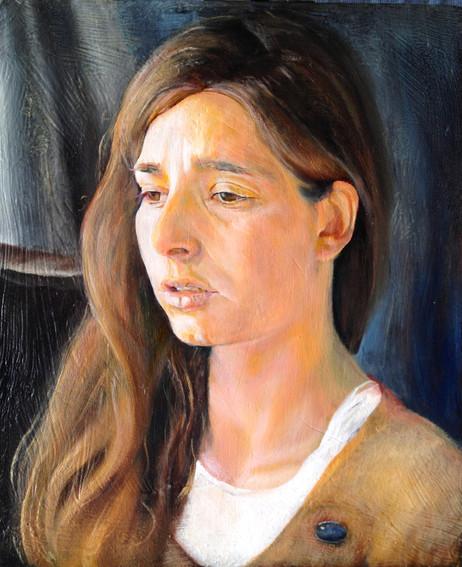 """""""Head and shoulders"""" 3/4 portrait, approx 30 x 40 cm  Ritratto """"Testa e Spalle"""" di 3/4, circa 30 x 40 cm"""
