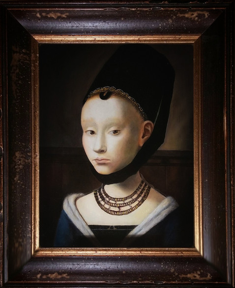 """""""Portrait of a young lady"""""""
