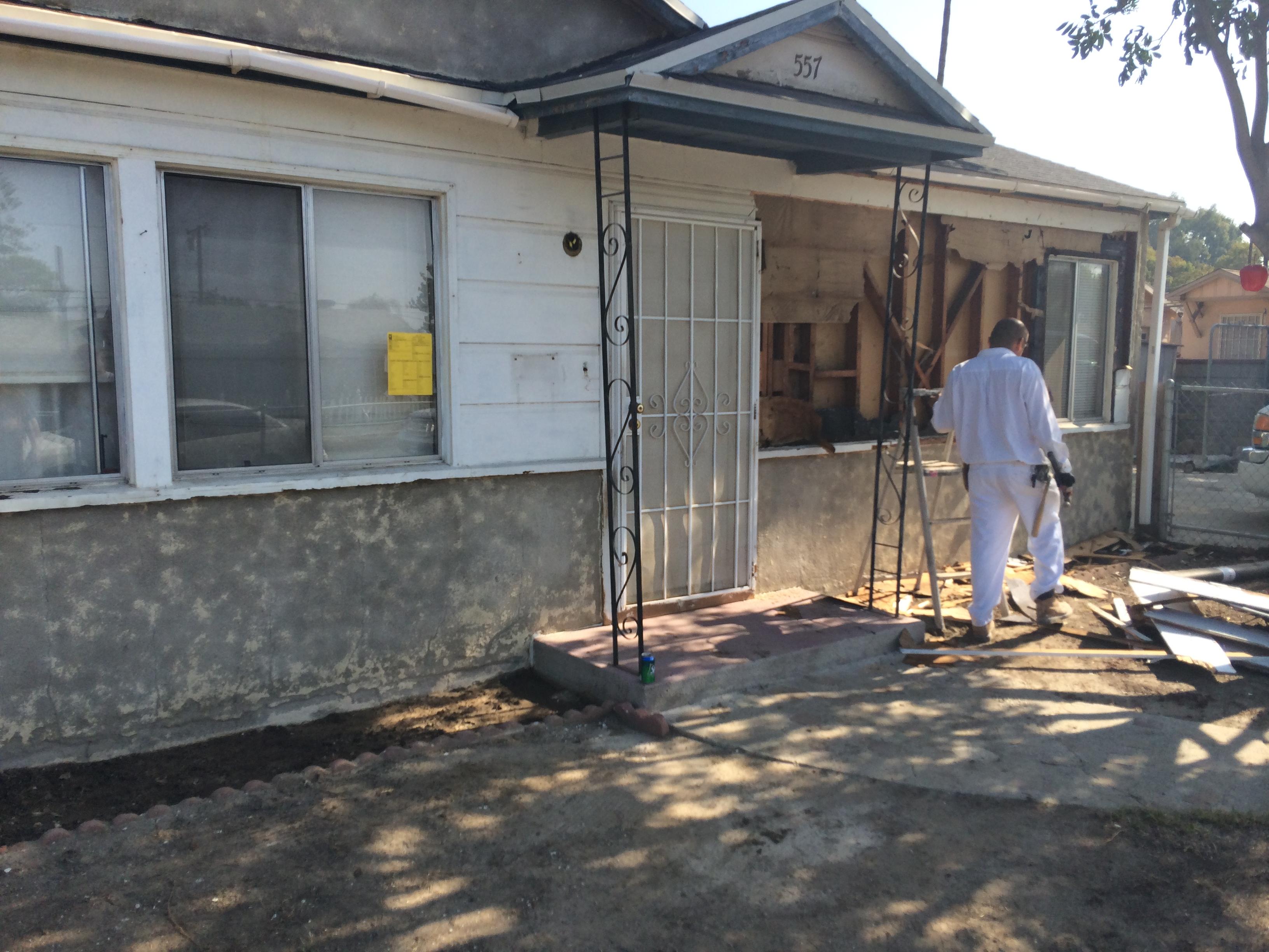 Outdoor Home Remodel