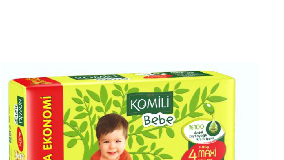 Komili Bebek Bezi Midi 48 Adet
