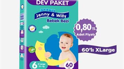 Jenny & Willy 86'lı Maxi Bebek Bezi