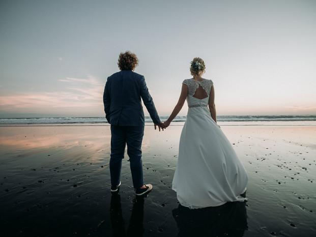 sunset romantic shoot