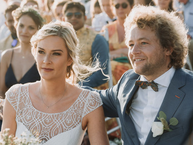 The wedding of Manon and Pierre