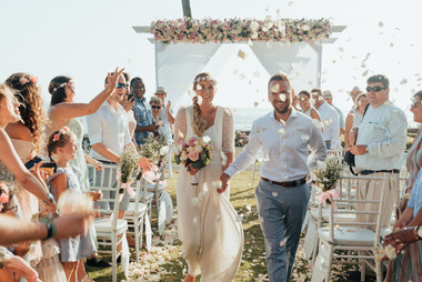 The wedding of Anne-Flore and Thomas