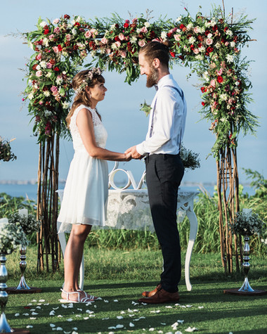 The wedding of Cristin and Konrad