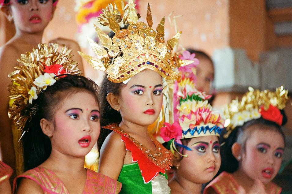 Balinese orphan