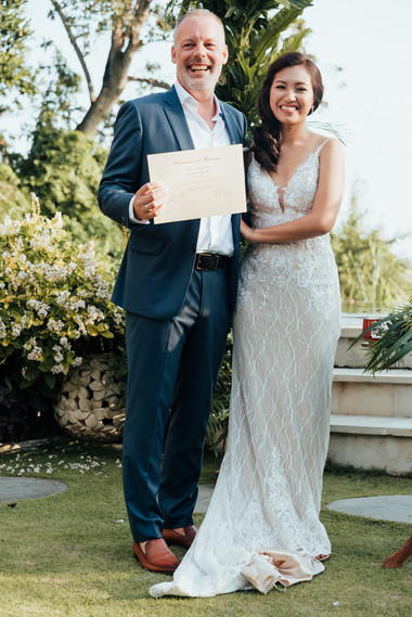 The wedding of Grace and Henrik