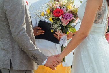 The wedding of Lucille and Cyril