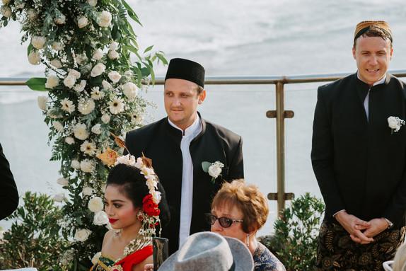 The wedding of Yunika and Kieran