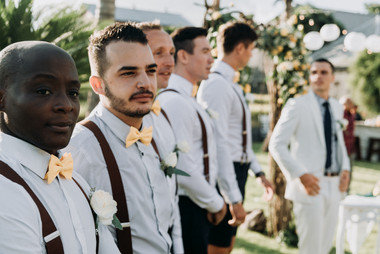 The wedding of Loan and Thomas