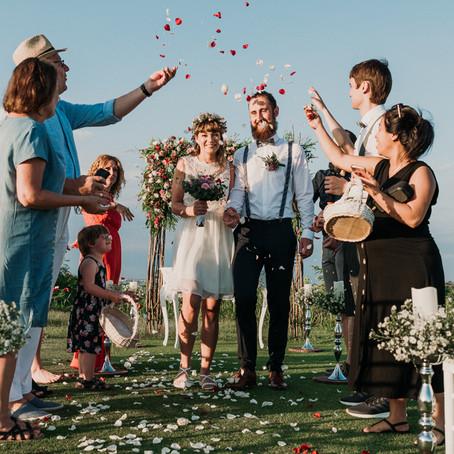 The wedding of C & K