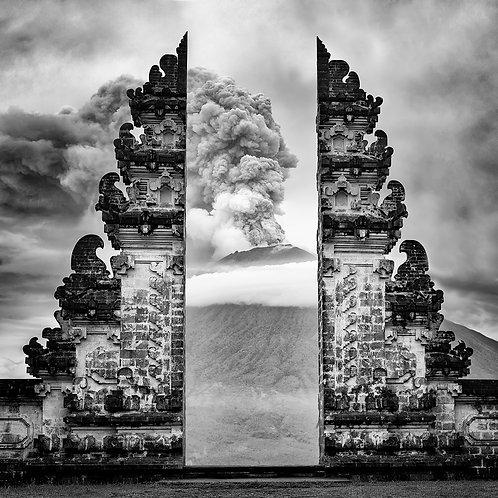 The Agung eruption