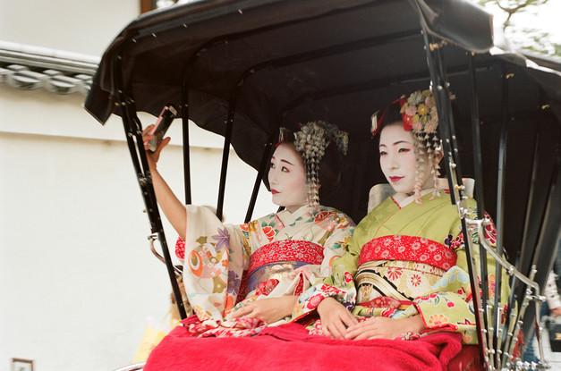 Fake geishas