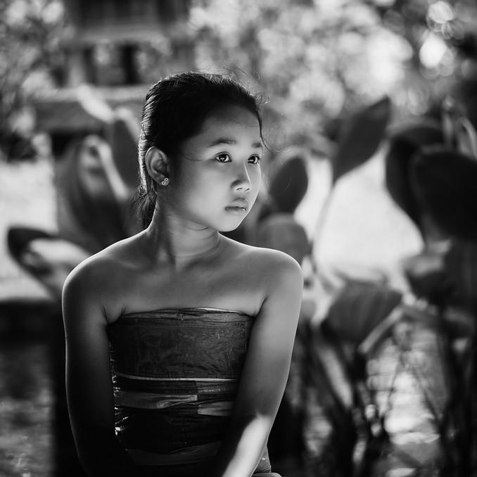 Balinese usher