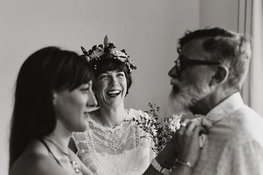 The wedding of Caroline and Stephane