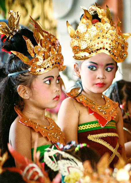 Balinese orphans