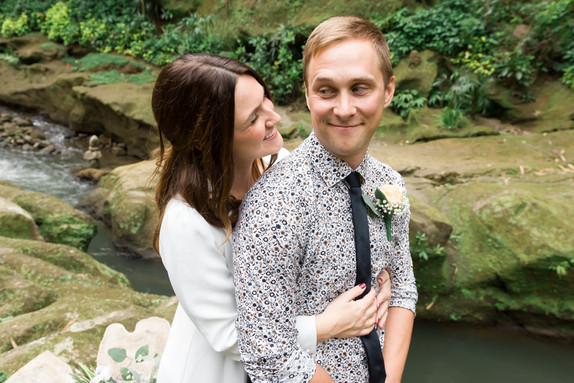 The wedding of Tristin and Philip