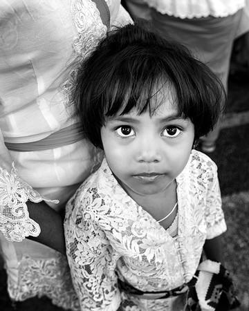 Balinese kid