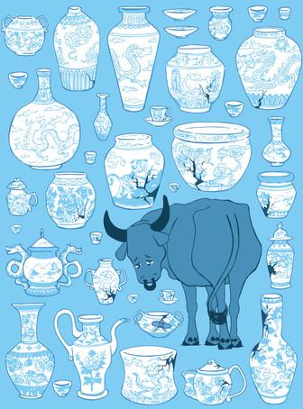 Bull in a China Shop (sad version)