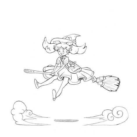 Mini Moon Witch