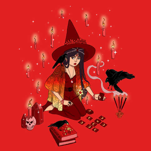 Sailor Mars Witch