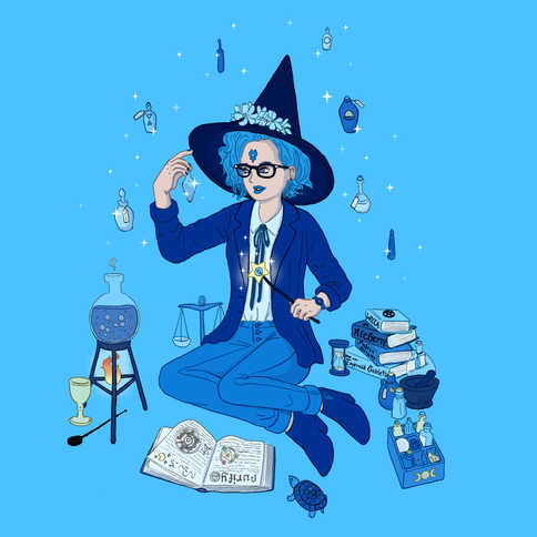 Sailor Mercury Witch