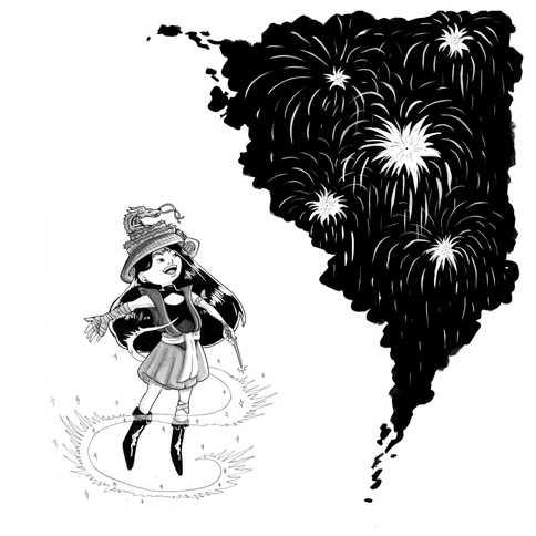 Firework Witch