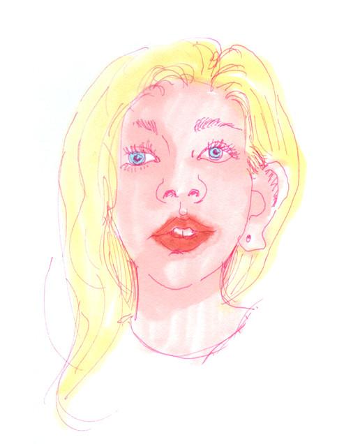 Contour Drawing No. 1