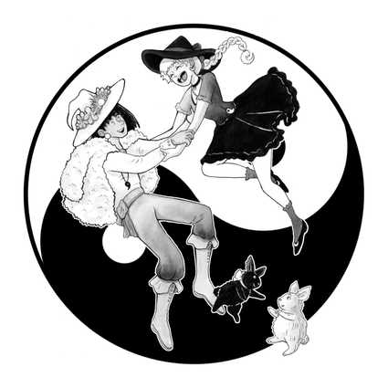 Yin and Yang Witch and Warlock