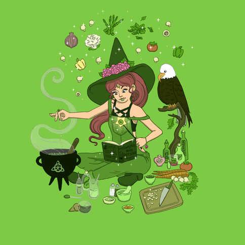 Sailor Jupiter Witch