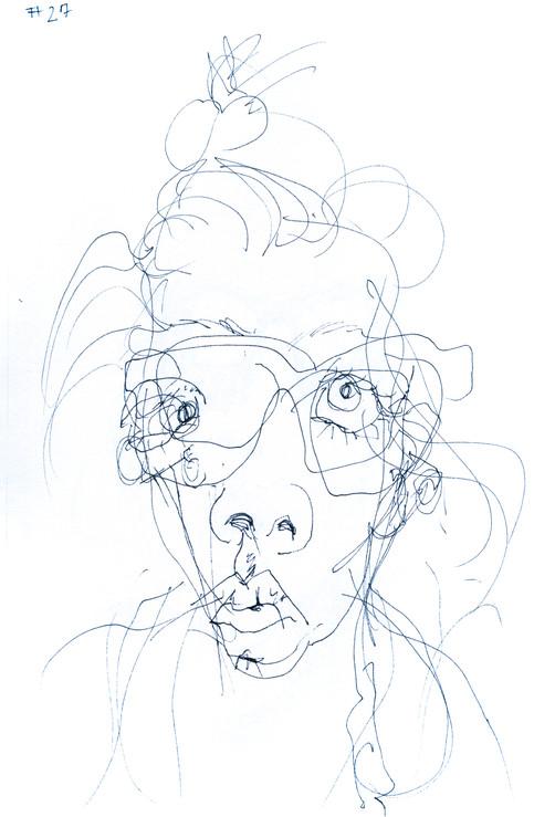 Contour Drawing No. 12
