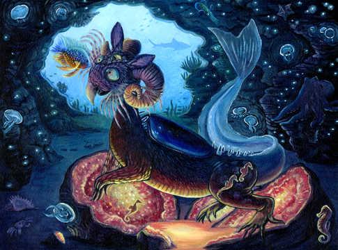Undersea Alien
