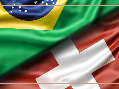 O Brasil celebrou a convenção com a Confederação Suíça para eliminar a dupla tributação