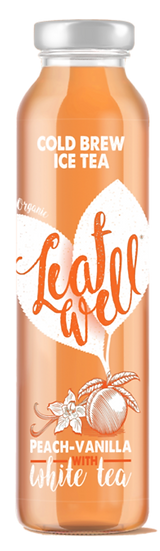 Leafwell PEACH-VANILLA Bottle 330ml