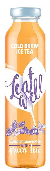 Leafwell ICE TEA Myrtille Fleur De Sureau Bottle 330ml