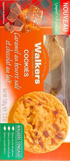 Walkers Cookies Caramel Au Beurre Salé Et Chocolat Au Lait