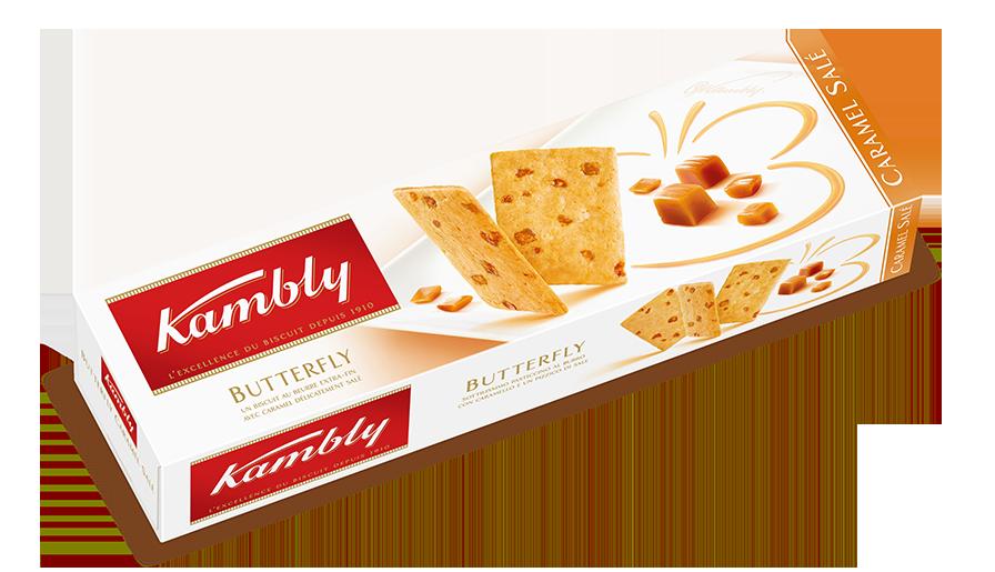 Kambly Butterfly Caramel Salé