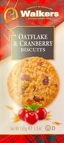 Walkers Oatflake & Cranberry Biscuits
