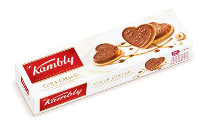 Kambly Coeur Caramel