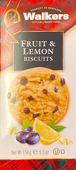Walkers Fruit & Lemon Biscuits