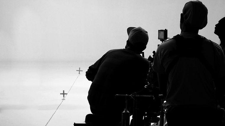 equipe de filmagem