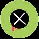 Froggu and Friends Helmet Cover Logo